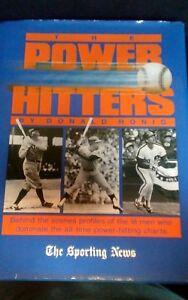 The Power Hitters, Donald Honig, 1989 1st Edition, Hardback w/Dust Jacket - Used