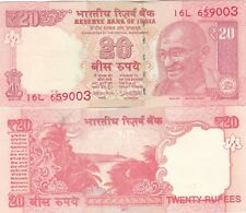 INDIA.2017.20 RUPEES.UNCIRCULATED.(S)
