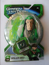 THE GREEN LANTERN GALIUS ZED FIGURE GL 16 + DUAL BLADE CONSTRUCT & POWER RING