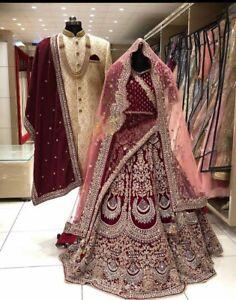 Stylish Lehenga Choli Lengha Chaniya Ghagra Designer Wedding Bridal Wear Saree