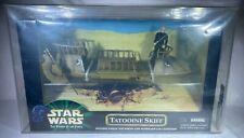 1999 Hasbro Star Wars Power of the Force Target Exclusive Tatooine Skiff AFA-U90