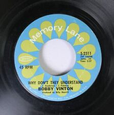 Pop 45 Bobby Vinton - Why Don'T They Understand / No Arms Can Ever Hold You On E