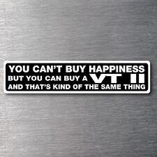 Buy a VT 11 sticker premium 10 year vinyl water/fade proof Holden commadore