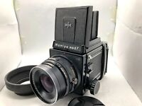 【NEAR MINT】MAMIYA RB67 Pro S + SEKOR C 90mm F3.8 Lens + 120 Film Back From JAPAN