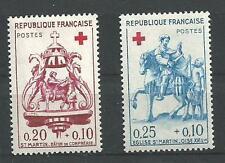 N° 1278 et 1279 pair croix rouge neuf *  année 1960