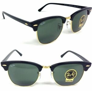 Sunglasses Ray Ban Clumbaster RB3016 W0365 Green Gradient Lens Little size 49 mm