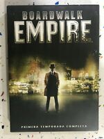 BOARDWALK EMPIRE DVD PRIMERA 1ª TEMPORADA COMPLETA ESPAÑOL INGLES FRANCES 3T