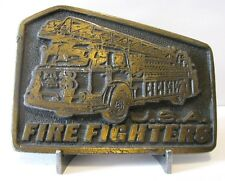 Fire Fighters Aerial Ladder Engine Truck Belt Buckle Department Tiffany NYFD 317
