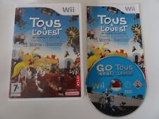 @ TOUS A L'OUEST . LUCKY LUKE  @ JEU NINTENDO WII - COMPLET
