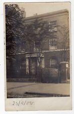 LONDON, BOW ROAD, TREDEGAR HOUSE, 1905, RP