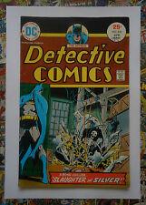 BATMAN: DETECTIVE COMICS #446 - APR 1975 - STERLING SILVERSMITH - FN/VFN (7.0)