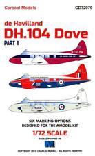Caracal Decals 1/72 DE HAVILLAND DH.104 DOVE British Transport & Airliner Part 1