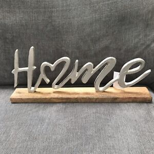 Mounted Home Sign home decor item