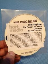 The King Blues:The Futures Not What It Used To Be CD PROMO/Demo/Silcon Eyes Mix