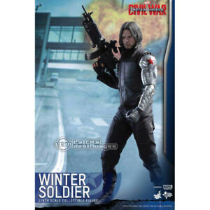 New MMS351 The Winter Soldier Action Figure HC 1/6 Hot Toys Marvel Avengers Toy