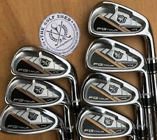 WILSON STAFF FG TOUR V4 FORGED Irons 4 - PW - DYNAMIC GOLD S300 PRO SHAFTS