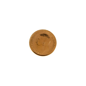 Pre-Owned 22ct Gold 1914 Half Sovereign Coin