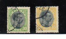 Dinamarca Monarquias valores del año 1919-20 (AX-745)