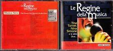 CD 783 LE REGINE DELLA MUSICA TINA TURNER NINA SIMONE E LE DIVE