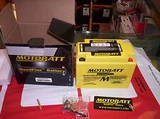 BATTERIA MOTOBATT AGM ERMETICA YTX9 BS HONDA CBR 600 87 SHADOW NX 650 VFR 750 XR