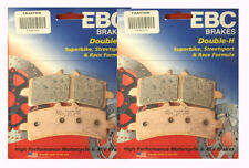 A complete set of Front EBC HH Brake pads for DUCATI 1100 Streetfighter 2009-13