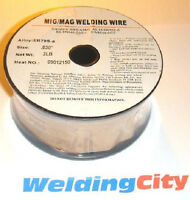 "WeldingCity ER70S-6 Mild Steel MIG Welding Wire 2-lb Roll 0.023"" (0.6mm) ER70S6"