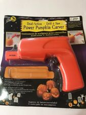 Dial Action Drill & Saw Power Pumpkin Carver Missing Some Part Ships N 24h