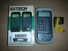 Extech 421305 Digital Heavy Duty Digital Cf Thermometer Type K Thermocouple