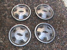 "70's 80's 90's Chevy Chevrolet S-10 Steel 14"" Hubcaps Set Of  Four"