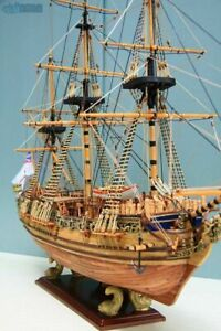 HMY Royal Caroline 1749 Scale 1/50 33'' Wooden Ship Model Kits Sailing Boat Kit