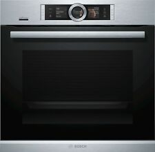 Bosch Serie 8 HRG6769S6 Built-In Oven with Added Steam 60cm Home Connect