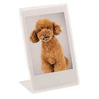 "Acrylic Photo Frame For  Mini Instax 9 8 90 Film Paper 3"" Photo"