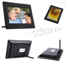 7in Digitaler Digital Photo Frame HD LCD Fotorahmen mit MP3 MP4 Player