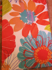 "Tablecloth  Floral Flowers 52"" x 70"" Indoor Outdoor Fabric NWT"
