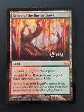 BOSCHETTO DEI SALICI ARDENTI - GROVE OF THE BURNWILLOWS ENG FTV - MTG MAGIC [MF]