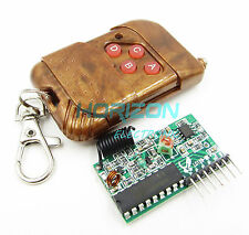433MHZ IC2262/2272 Wireless 4 Channel RF Remote control Transmitter Receiver Kit