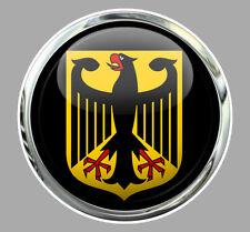 DEUTSCHLAND AIGLE ALLEMAGNE BLASON VW DUB 9cm AUTOCOLLANT STICKER AA222