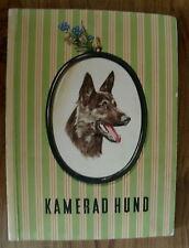 KAMERAD HUND 150 VARIOUS DOG BREED AUSTRIAN TOBACCO CARDS IN ALBUM
