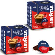 32 x Lavazza A Modo Mio Caffè Crema E Gusto MACCHINETTA DEL CAFFE 'BACCELLI Capsule Nuovo