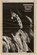 "1972 Jimi Hendrix ""In The West "" Album Promo Ad"