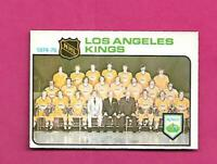 1975-76 OPC # 86 KINGS UNMARKED TEAM CHECKLIST EX-MT CARD (INV# D2349)