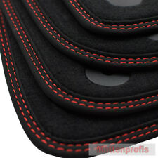 MP velluto tappetini cucitura doppia per VW Golf 7 VII posteriore acciaio per ab Bj. 08/2012 ro-ro