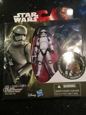 Star Wars The Force Awakens First Order Stormtrooper Armor Up Figure New Wear