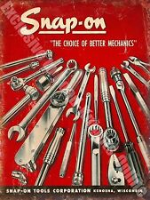 Vintage Garage, 22 Mechanics Tools Workshop Advertising, Medium Metal Tin Sign