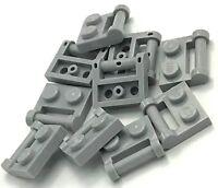 Lego 50 New Black Window 1 x 2 x 3 Pane with Thick Corner Tabs Pieces