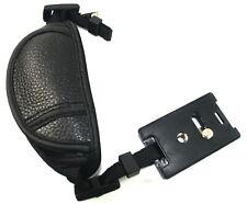 Camera Hand Wrist Strap grip for DSLR Canon Olympus Nikon Sony Genuine Leather