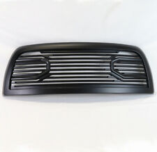 FOR 10-18 RAM 2500 3500 4500 TRUCK FRONT GRILLE GRILL SHELL MATTE BLACK FINISH
