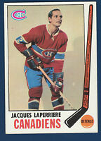 JACQUES LAPERRIERE 69-70 TOPPS 1969-70 NO 3 NRMINT++3
