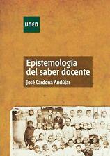 UNED Epistemología del saber docente, eBook, 2013