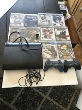 ps3 super slim 500gb With 2 Controllers And 10 Games